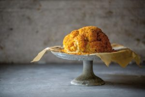 Cheese Filled Cauliflower Coated in Crispy Bread Crumbs (Large)