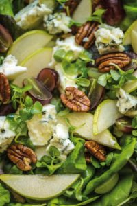 Cheese, Pear & Grape Salad (Large)4