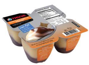 Chocolate-Vanilla Pudding