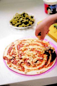 malawach pizza