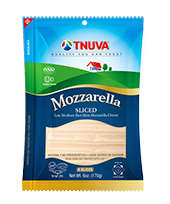 mozzarela sliced