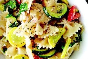 Summer-Squash-Bowtie-Pasta