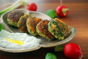 spinach-latkes